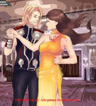 Thor and Tera by fanfictionaxis
