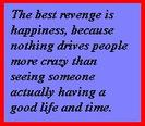 Best Revenge is happiness stamp. by fanfictionaxis