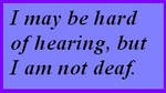 Hard of hearing but not deaf by fanfictionaxis