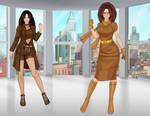 Elizabeth Brown -mute mutant by fanfictionaxis