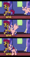 Waiting up for the Princess Squire by Eeveewhite97