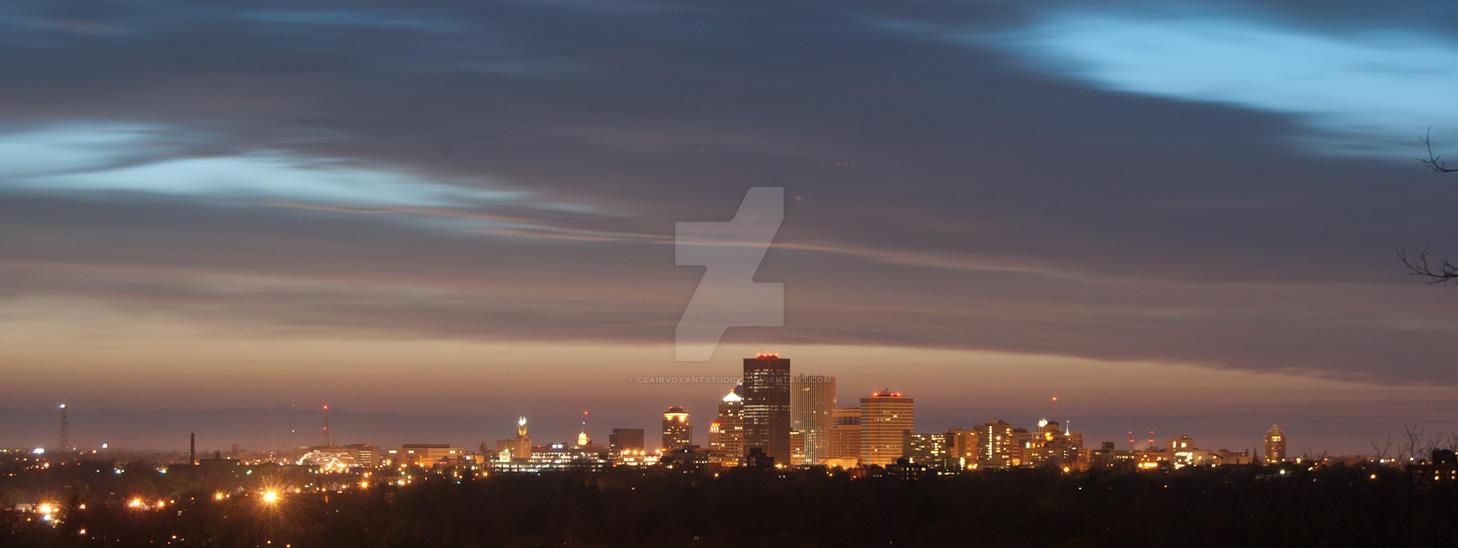 City Skyline by ClairvoyantStudios