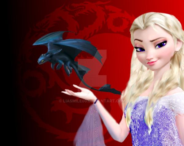 Disney Daenerys Targaryen by LiaSmile00