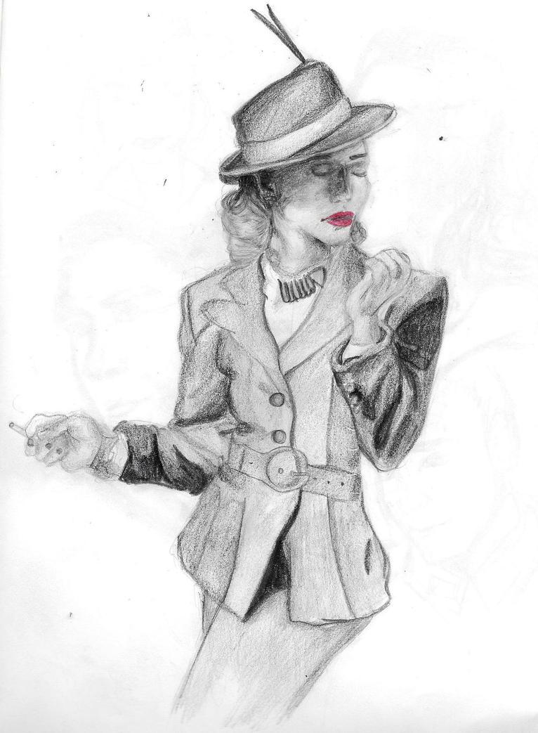 Bridget Von Hammersmark by LiaSmile00