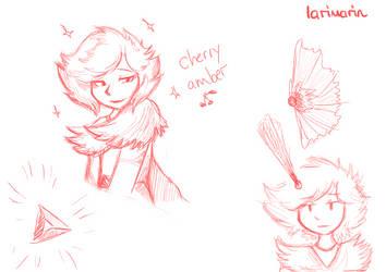 Cherry-Amber by Larimarin