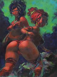 Medieval Bikini by JoonSong