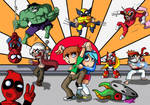 Scott Pilgrim vs Marvel Capcom