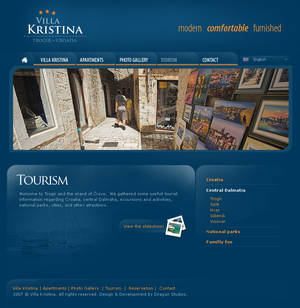 Villa Kristina - Website