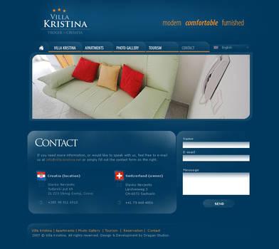 Villa Kristina - Website p2