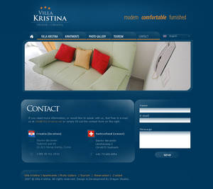Villa Kristina - Website p2