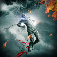 Burning in the Skies by EmanuelGreatGod