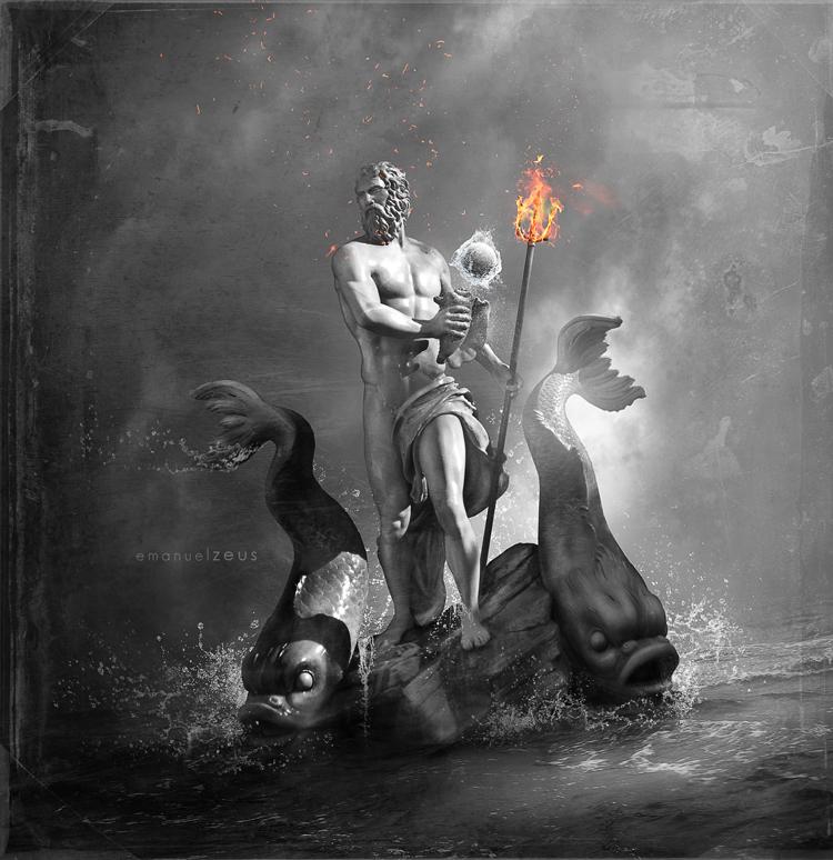 Poseidon by EmanuelGreatGod
