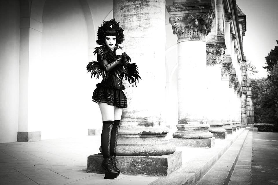 Goth Faerie by vonMauz