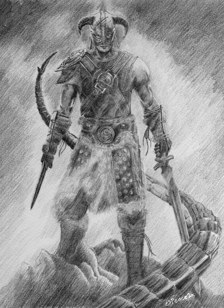 The Elder Scrolls V SKYRIM by apiz2k8