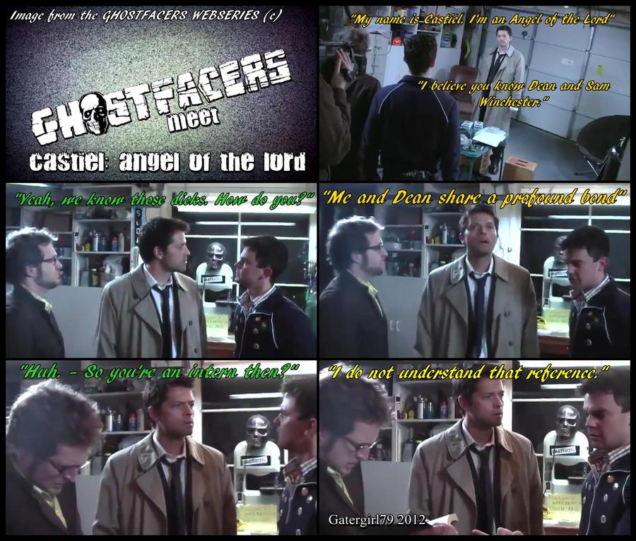 what episode does ghostfacers meet castiel