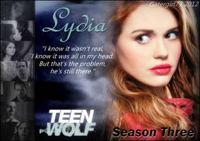 Teen Wolf - Lydia - I know it wasn't real by Gatergirl79