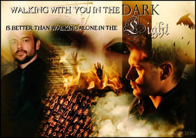 Drowley - Walking With You In The Dark by Gatergirl79