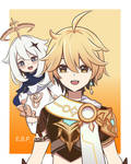 Aether and Paimon