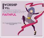 God- I WILL WORSHIP