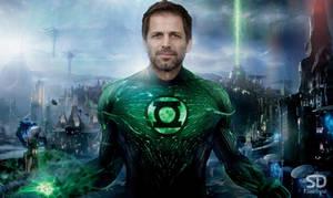 Zack Snyder as Green Lantern