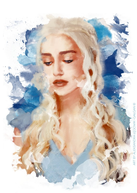 GOT Daenerys by HarukArt