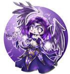 League of Legends Morgana classic skin