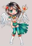 The high priestess LOVE 6 ID Card