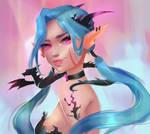 Princess of dragons by Dee-vie