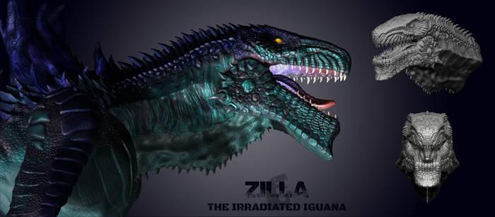 Zilla Redesign by Leonosaurusbetch