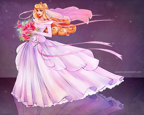 Wedding dress for Aurora