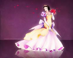 Wedding dress for Snow White