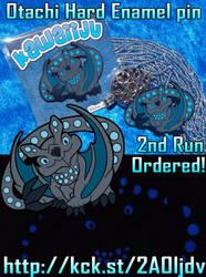 Otachi Glow in the Dark Pins 2nd Run by YamiGriffin