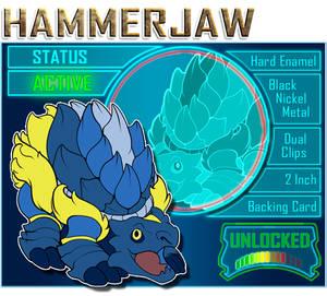Hammerjaw is unlocked!