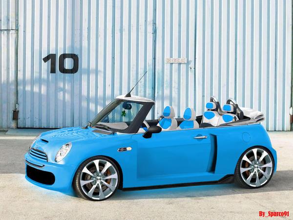 mini cooper s bleu ciel by sparco91 on deviantart. Black Bedroom Furniture Sets. Home Design Ideas