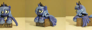 Free Pony Luna My Little Pony Custom Sculpture