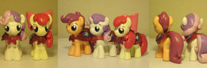 The Cutie Mark Crusaders My Little Pony FiM