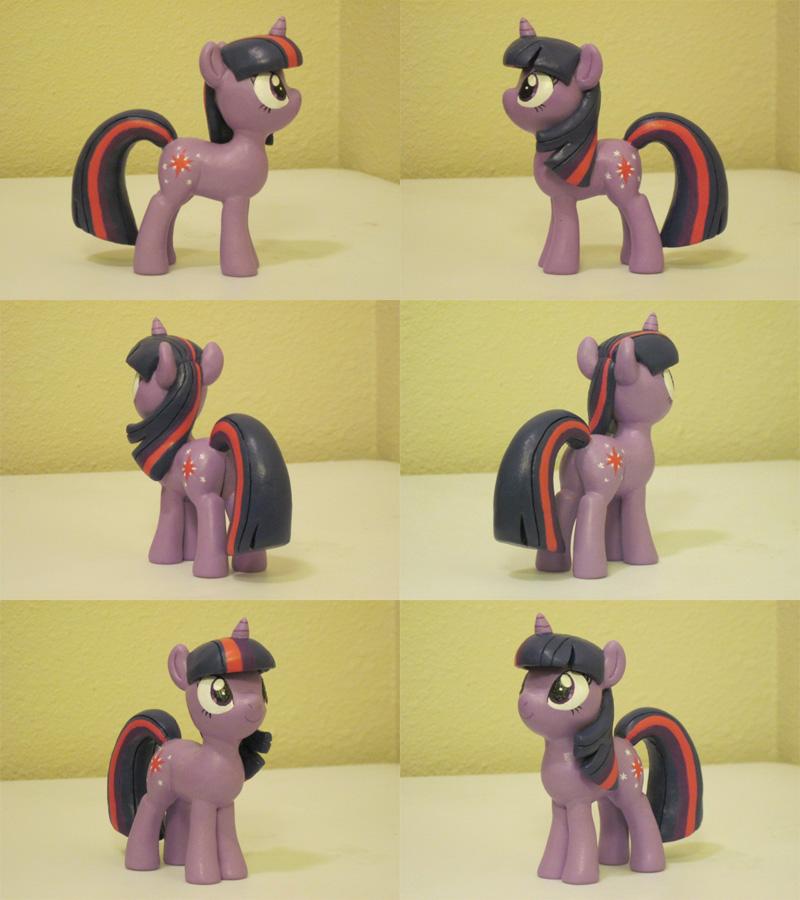Twilight Sparkle My Little Pony FiM Sculpture by Blackout-Comix