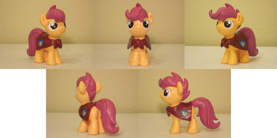 Scootaloo CMC Custom Sculpt Commission 2 by Blackout-Comix