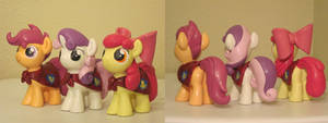 The Cutie Mark Crusaders Custom Sculpts 2
