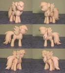 Rainbow Dash My Little Pony Custom Sculpture WIP