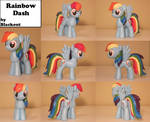 Rainbow Dash MLP FiM Sculpture Commission