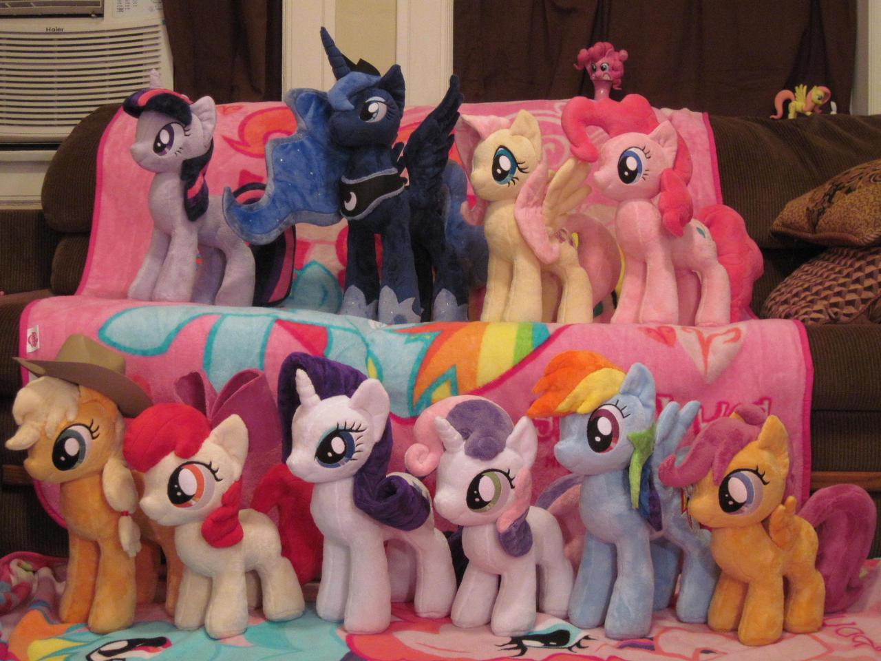 Plushy Ponies by Blackout-Comix