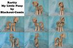 Rarity My Little Pony Sculpture WIP