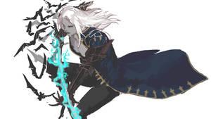 Castlevania Lords of Shadow2 rough Alucard