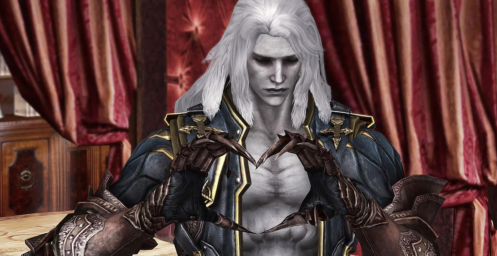 Castlevania Lords Of Shadow2 Alucard By NightArmster