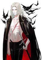 Netflix Castlevania Alucard by NightArmster