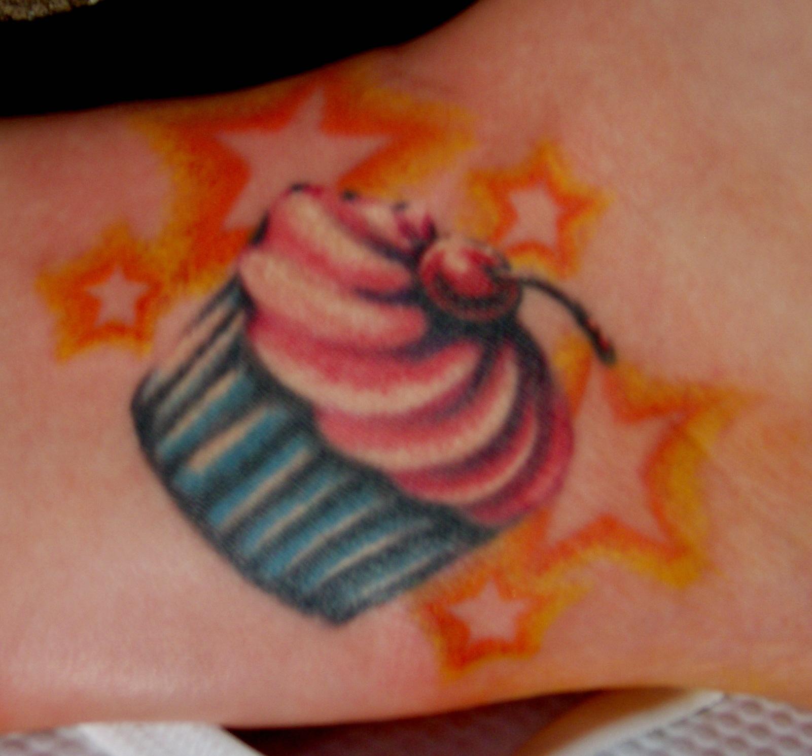 Cupcake Tattoos, Dog Tattoos