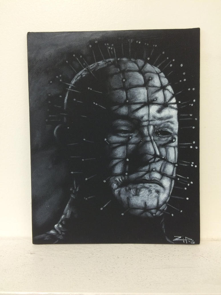 Pinhead  by tattoos-by-zip