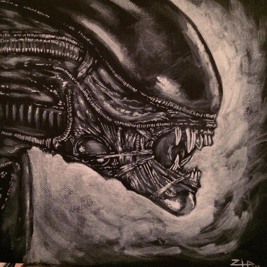 Alien by tattoos-by-zip