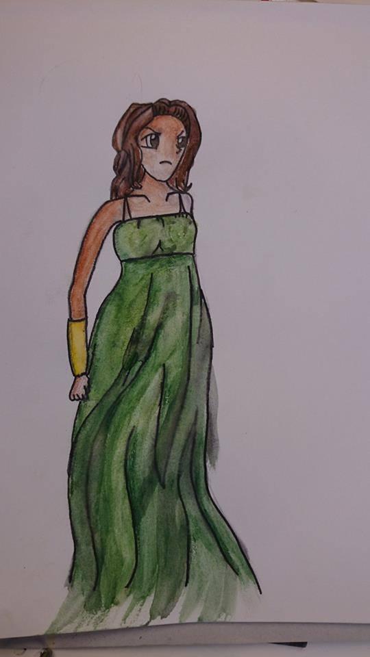 Greek Godess by Rho96